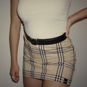Skirts - almighty plaid skirt